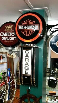 Harley Davidson Light Up Premium Garage Sign Light Led