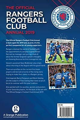 Official Rangers FC Annual 2019 by Grange Communications New Hardback Book