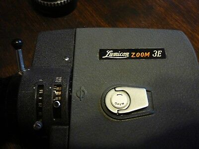 lumicon zoom 3E vintage video camera with case