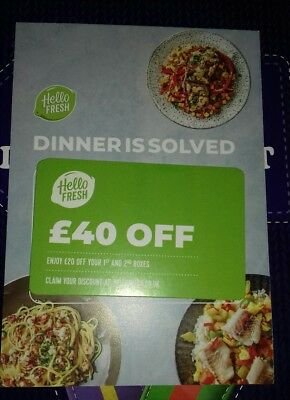 £40 OFF Hello FRESH gift card