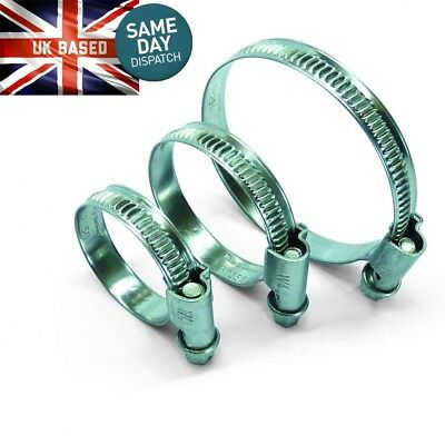 Hose Clips Stainless Steel Worm Drive Marine 8mm - 120mm Clamp Sizes Available