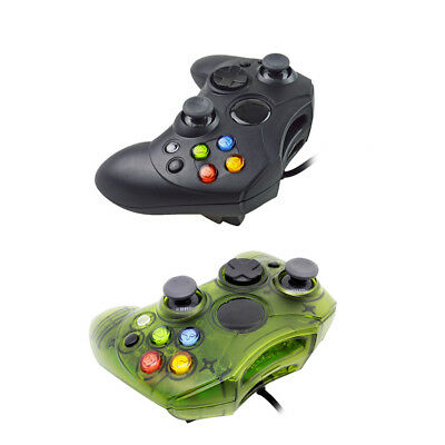 Classic Plastic Wired Game Controller Retro Game Pad Joystick for Xbox Game Tool