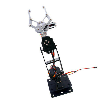 4DOF Fully Assembled Mechanical Robotic Arm Clamp Claw to Arduino Raspberry