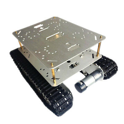 Obstacle Avoidance Double Shock Absorption Smart Robot tank Chassis Car