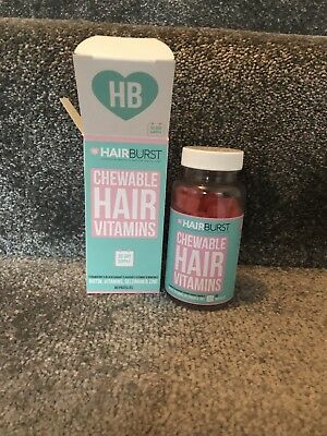 5d4d661aad32f HAIRBURST CHEWABLE HAIR Vitamins - New Rrp £19.99   1 Month Supply ...
