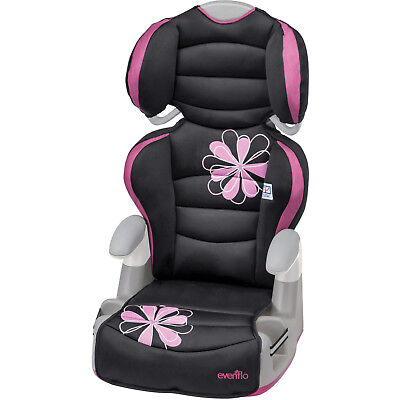 Girl Booster Seat Front Facing Narrow Car Mobile 2 1 Tall Older Kids Comfy Child