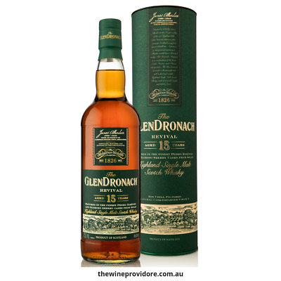 New The GlenDronach 15 Yr Old Revival