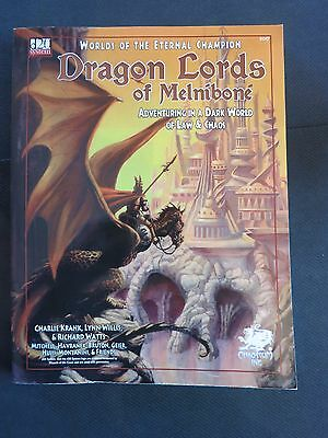 Dragon Lords of Melnibone Core Setting D20 Elric Chaosium used