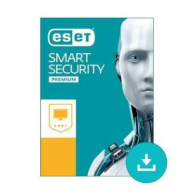 ESET Smart Security Premium - Licence Until 2020 - 3 PC's - Fast Delivery