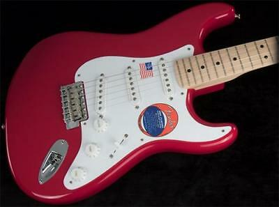 Fender Eric Clapton Stratocaster Electric Guitar Torino Red (SN:US17062320)