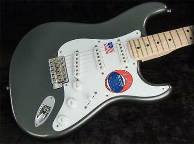 Fender Eric Clapton Stratocaster Electric Guitar Pewter (SN:US17074133)