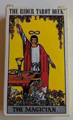 The Rider Tarot Deck The Magician 1971 WR78 Original Waite Cards Complete Swiss