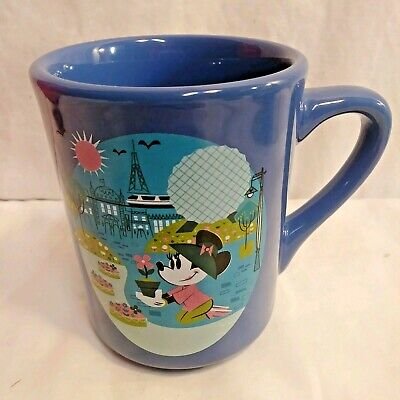 Disney Epcot International Flower And Garden Festival Minnie Coffee Mug Cup 2017