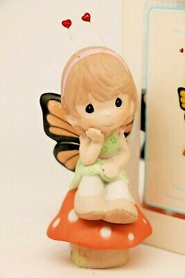 BNIB Precious Moments THINKING OF YOU! 104016,  Butterfly Girl