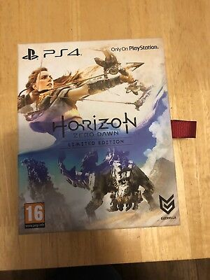 Horizon Zero Dawn Limited Edition PS4 New Sealed