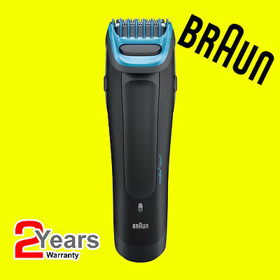 Braun CruZer 5 Head Mens 2-in-1 Hair & Face Shaver Clipper Kit, Washable, 3-24mm