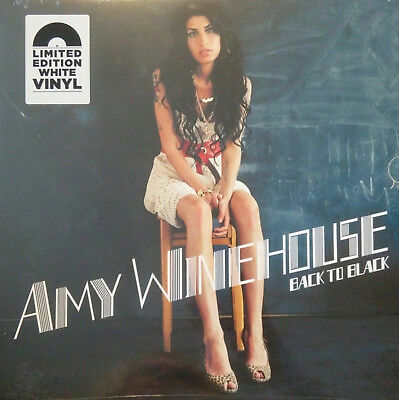 Winehouse Amy Back To Black Vinile Lp Colorato (White Vinyl) Black Friday 2018