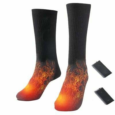 Electric Heated Socks Rechargeable Battery Feet Foot Warmer For Skiing Fishing