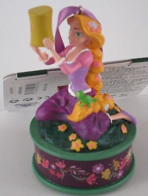 Disney Store Rapunzel W/ Pascal Christmas Singing Ornament Tangled NEW in Box