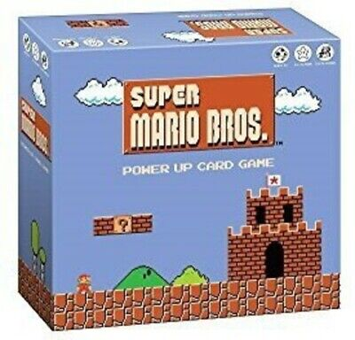 Super Mario Bros. Power Up Card Game Video Game