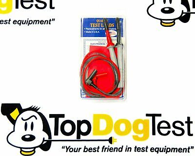 Probe Master 8150 BANANA-Micro-Tip Silicone 1KV CATIII Gold Plated Test Leads