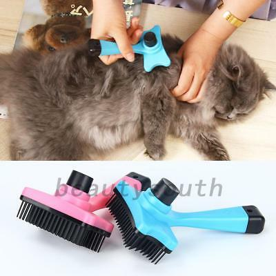 Pet Dog Cat Puppy Hair Shedding Grooming Trimmer Fur Comb Slicker Rake Pet Brush