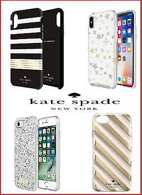 Kate Spade New York Hardshell Case for Apple iPhone X, XS and iPhone 6, 6s,7 & 8
