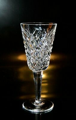 Waterford Crystal ALANA Sherry WINE Goblet(s), EXCELLENT, Free Shipping USA