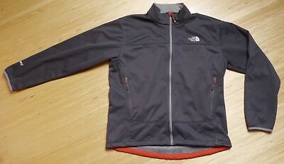 The North Face Mens Soft Shell DWR Gore Windstopper Full Zip Jacket XL NICE!