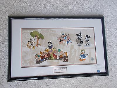 Disney Decades The 1930s Disney LE 2000 10x20 NEW Framed Sericel Sold-Out Rare