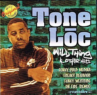 TONE LOC Wild Thing & Other Hits CD NEW & SEALED old school rap [SKU 1wo-61]