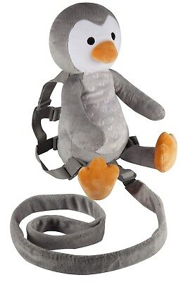 Playette 2 in 1 Harness Buddy Deluxe Penguin - keep child safe and close