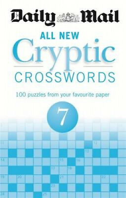 Daily Mail All New Cryptic Crosswords 7 (The Daily Mail Puzzle Books).