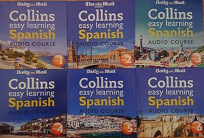EASY LEARNING SPANISH AUDIO COURSE ON 6 CD's