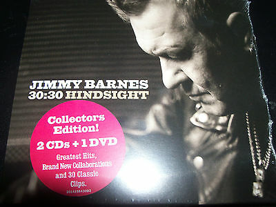 Jimmy Barnes (Cold Chisel) Hindsight 30:30 / 30 : 30 Deluxe 2 CD + DVD – New