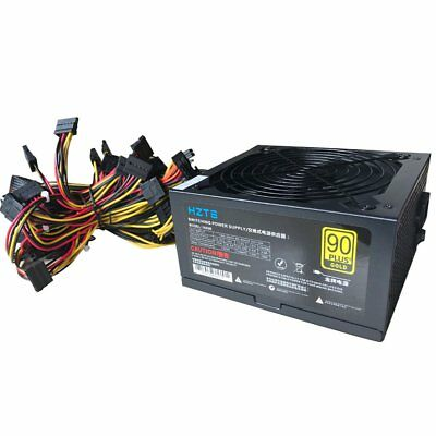 1600W Power Supply for 6GPU Eth Rig Ethereum Coin Miner Mining Dedicated PM