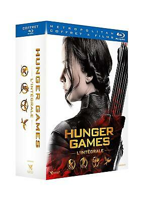 HUNGER GAMES - L'intégrale 4 FILMS - COFFRET BLU-RAY NEUF SOUS BLISTER