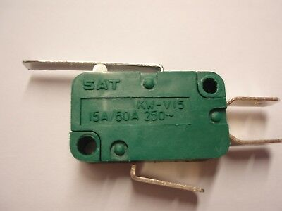 Low Cost Standard Lever Microswitch. Type:sat. Kw-V15 Series. 15A/60A 250~