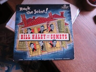 Bill Haley and his Comets: Rock The Joint! RARE UK LONDON LP BITTE TEXT LESEN