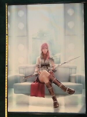 Final Fantasy 13 Lightning Wall Scroll 31 x 42 Inches