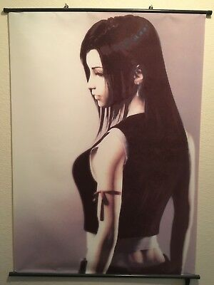 Final Fantasy 7 Tifa Lockhart Wall Scroll 31 x 42 Inches