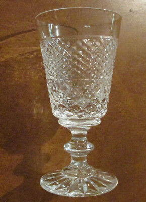 """Set of 4 Tyrone Shreve's Crystal Cordial/Sherry/Liqueur glasses - 4 1/2"""" tall"""