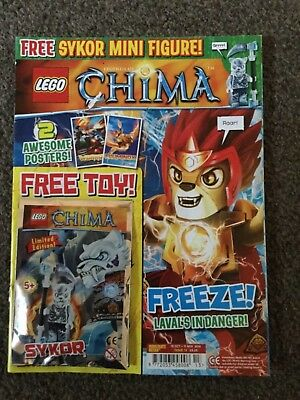 LEGO LEGENDS OF CHIMA MAGAZINE ISSUE 13 sykor
