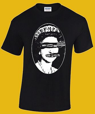 SEX PISTOLS God save the Queen T-shirt  (Public Image Ltd, Damned, Clash)