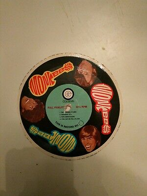 The Monkees Cardboard Cereal Box 33 1/3 Full Fidelity Record - Comics 45 Vintage