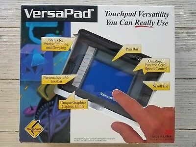 Interlink Electronics VersaPad VP6100  Touchpad 9-Pin Serial & PS/2
