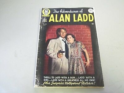The Adventures of Alan Ladd #2 COMIC BOOK 1949