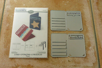 Sizzix Thinlits 659750 und 659748 Life made simple Journal Cards Birthday