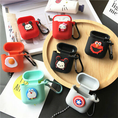 For Apple Airpods Earphone Charging Case Holder Bag Cute Disney Cartoon Cover