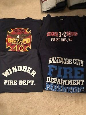 Fire Dept Shirts XXL
